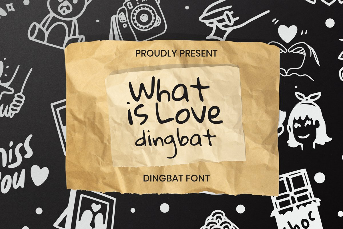 What Is Love Dingbat example image 1