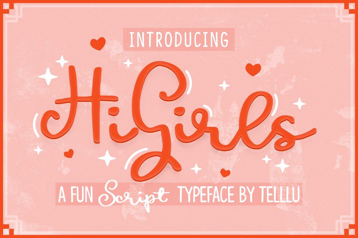 HiGirls Script example image 1