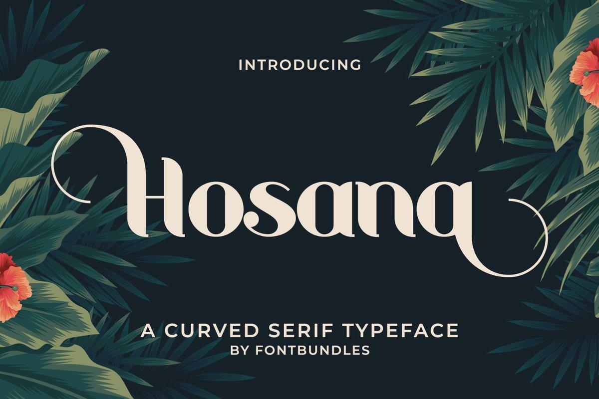 Hosana example image 1