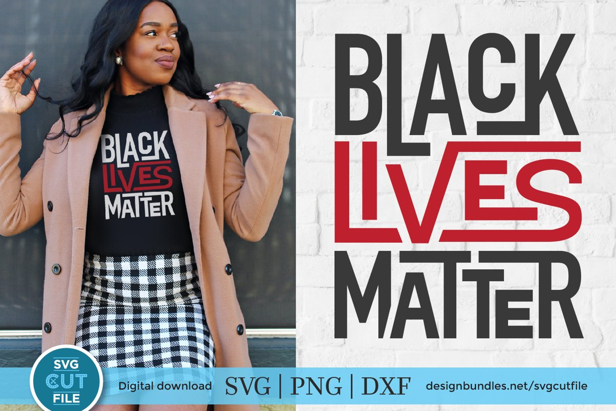 Black Lives Matter svg - a BLM svg for crafters example image 1
