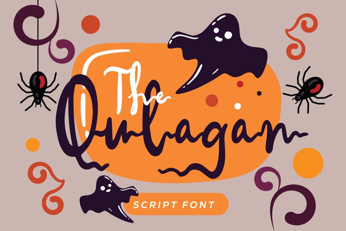 Qulagan - Hallowen Fonts example image 1