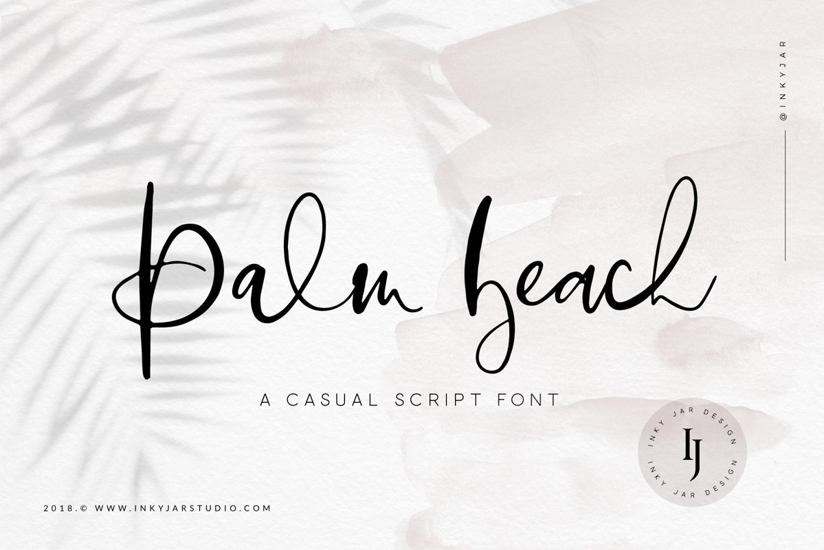 Palm Beach | Casual Script Font example image 1