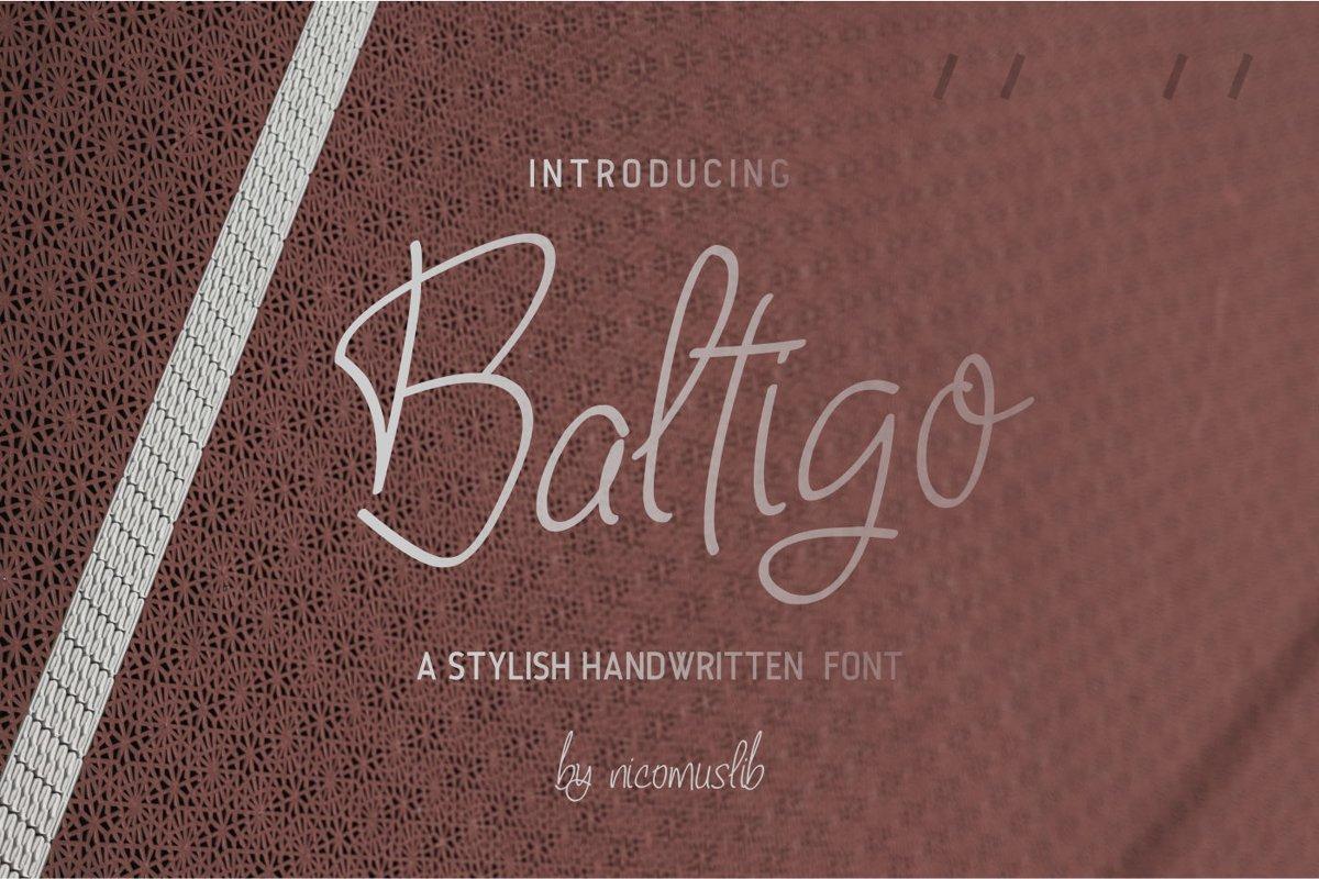 Baltigo Modern Handwritten example image 1