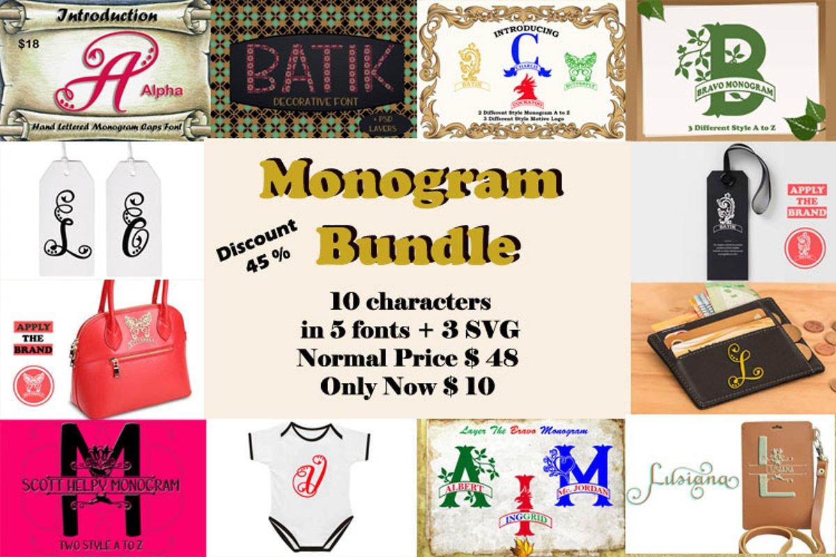 Monogram Bundles example image 1