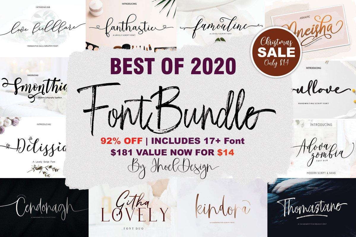 Best Of 2020 Font Bundle example image 1