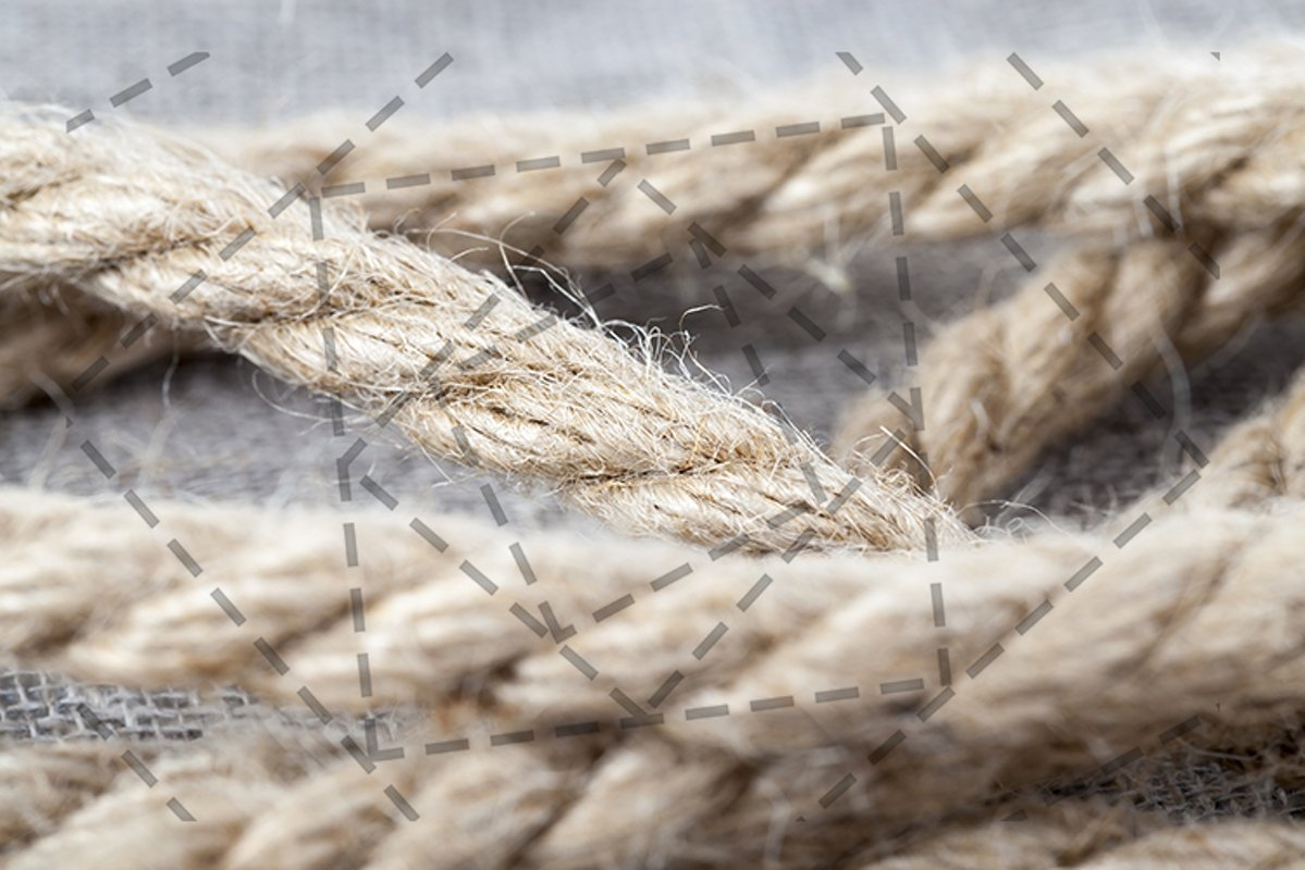 thick braided rope example image 1
