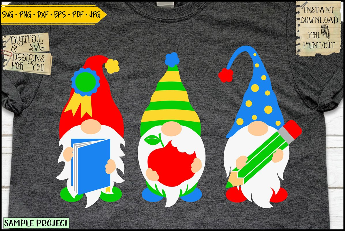 Back to school gnomes example image 1