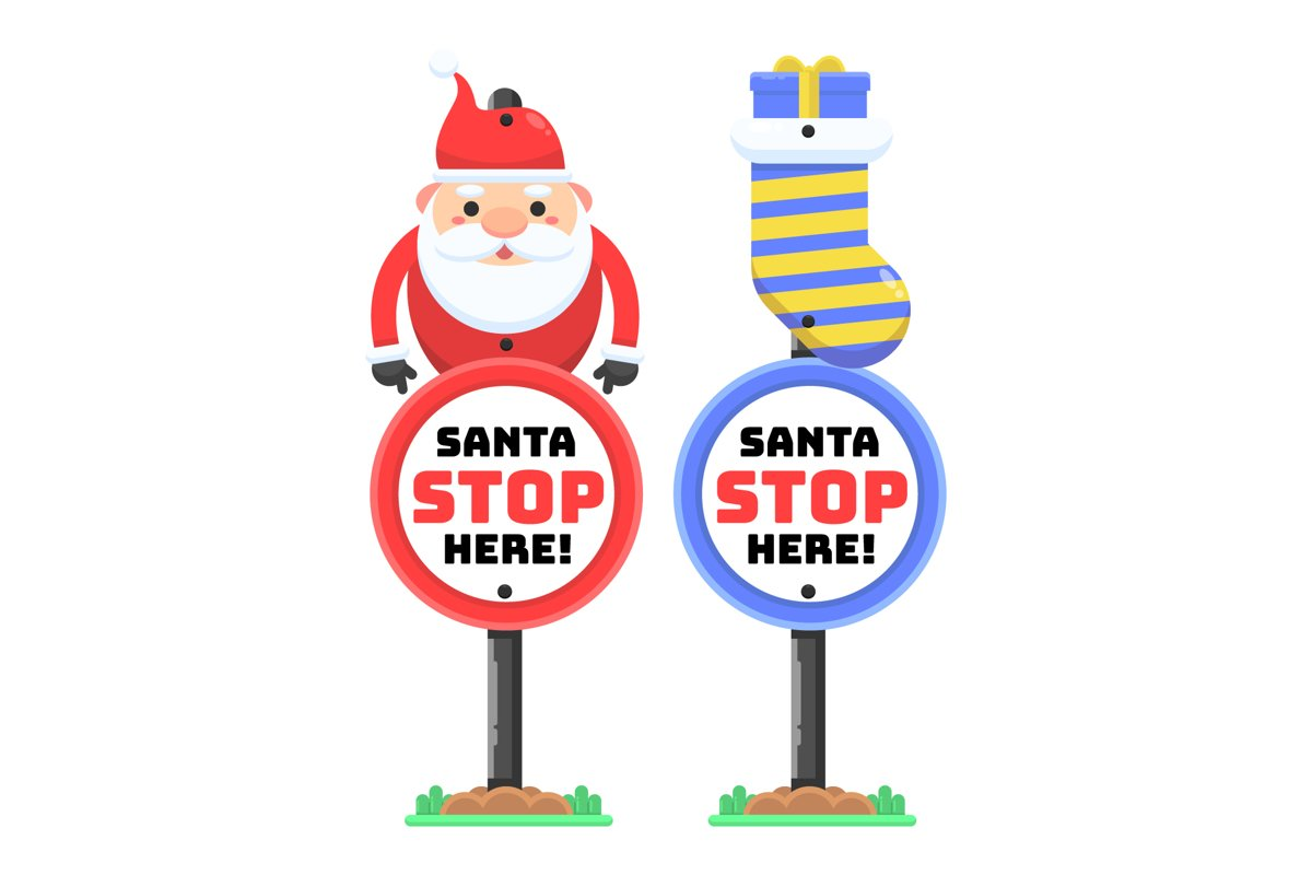 Santa Stop Here example image 1
