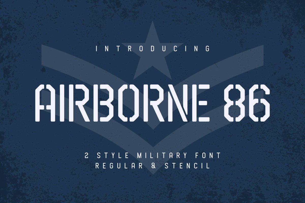 Airborne 86 example image 1