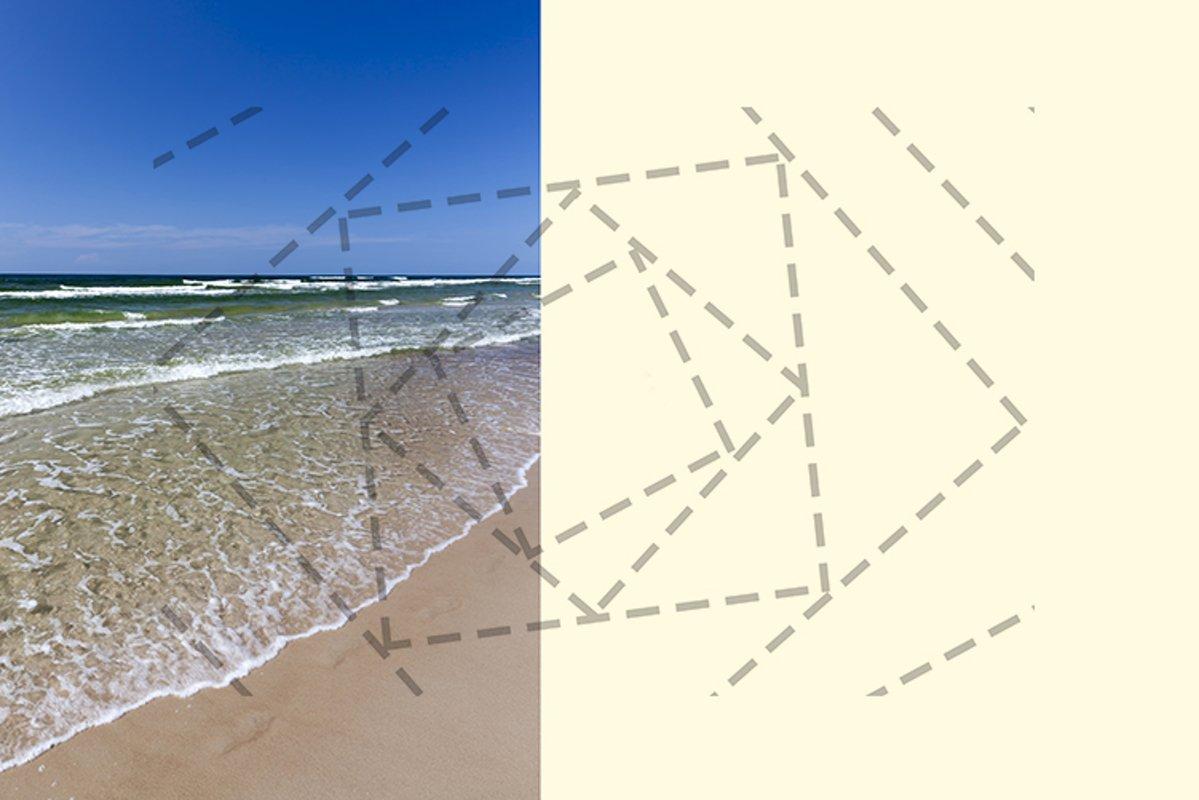 sandy beach sea example image 1