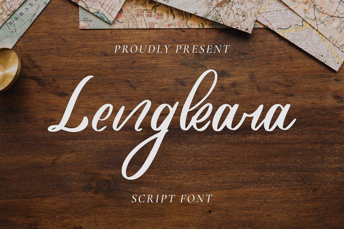 Lengkara Script example image 1