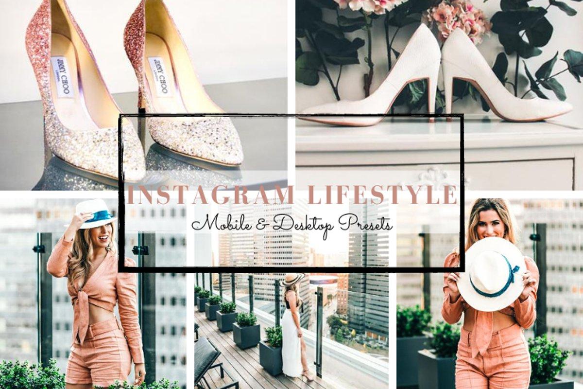 Instagram Lifestyle Mobile & Desktop Lightroom Presets example image 1