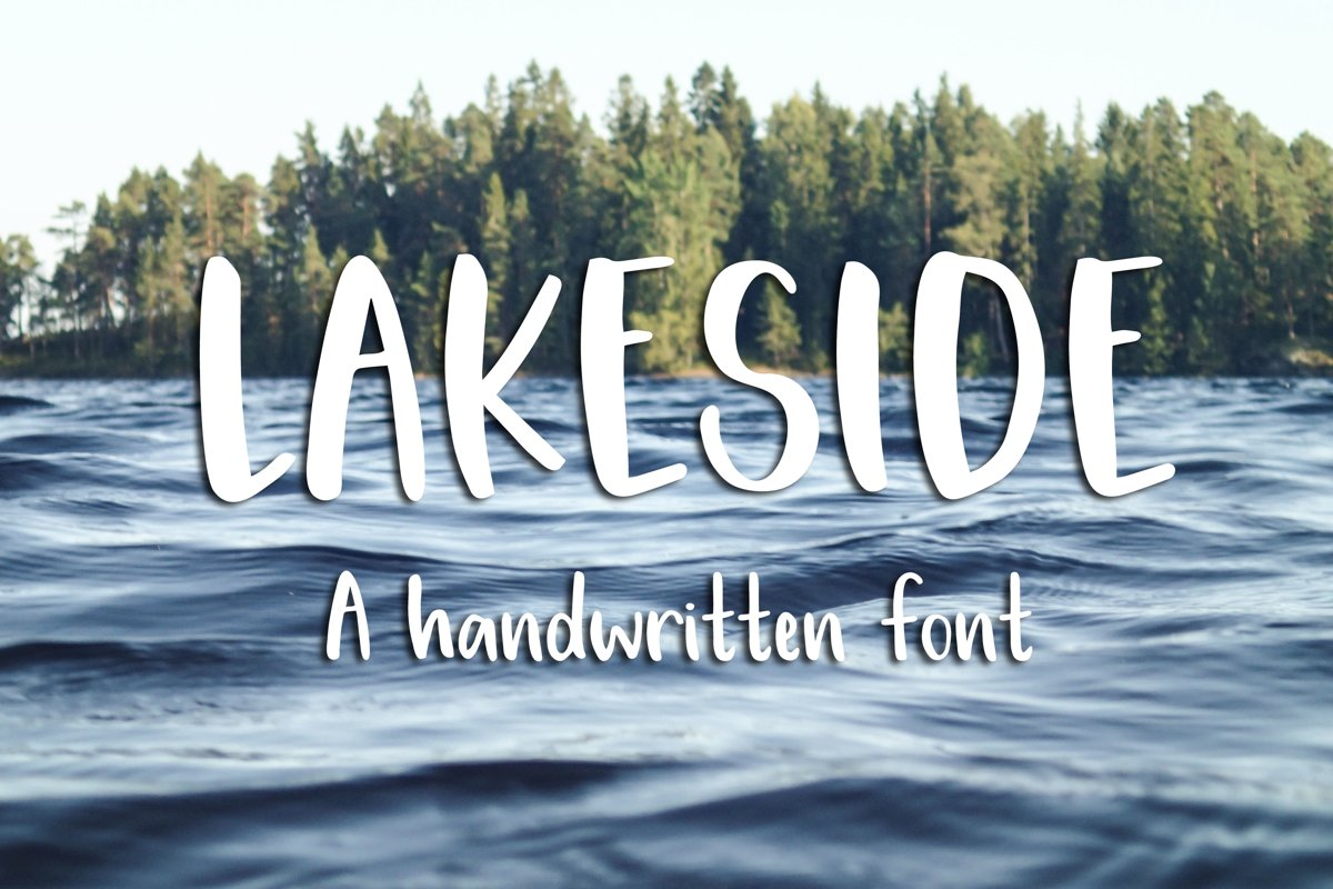 Lakeside Font example image 1