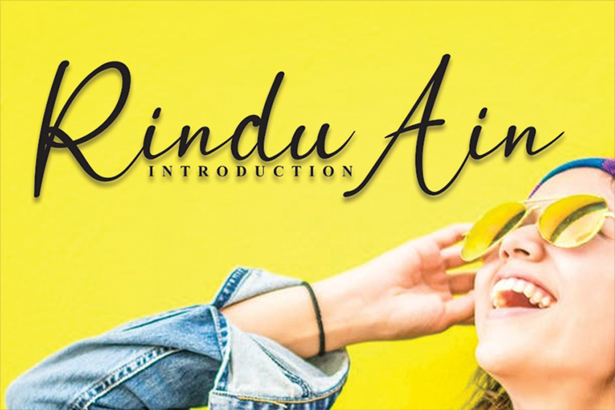 Rindu Ain example image 1