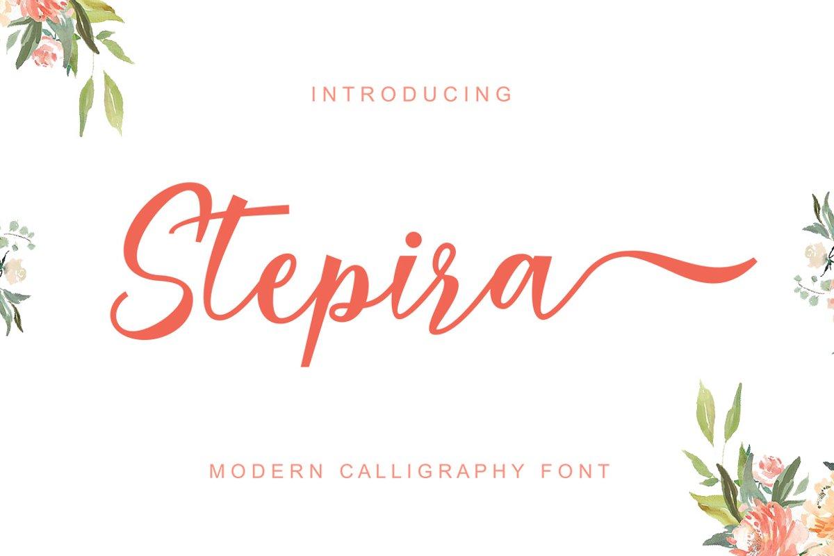 Stepira Script example image 1