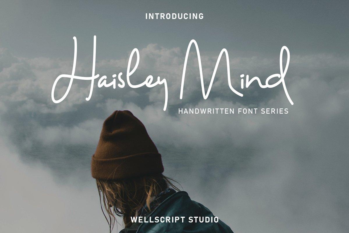 Haisley Mind - Handwritten Script example image 1