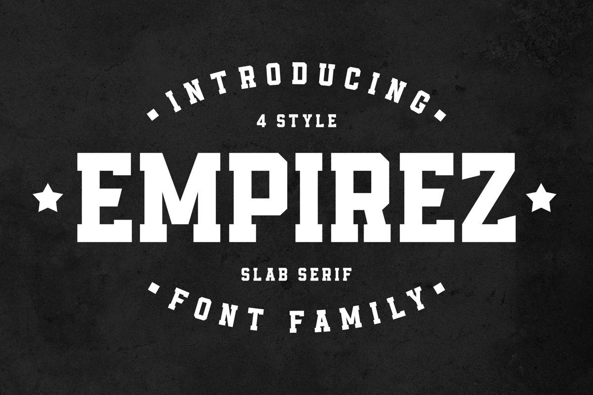 Empirez - Slab Serif example image 1