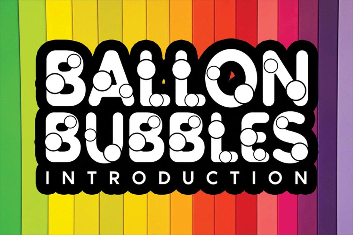 Ballon Bubbles example image 1