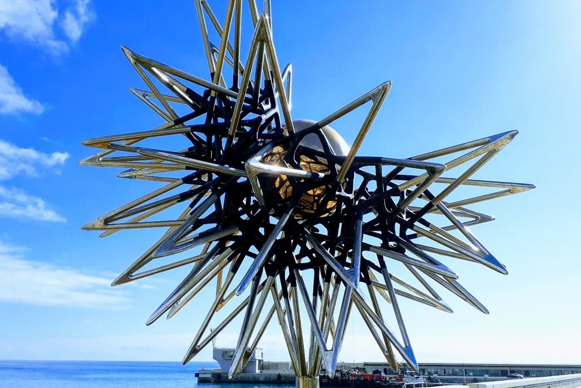 Architecture Photography Decoration in the Harbor in Monaco example image 1