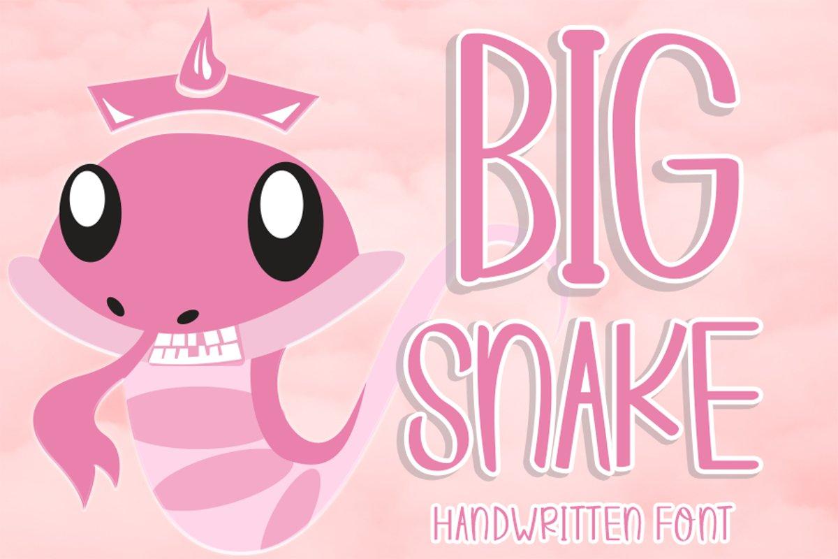 Big Snake example image 1