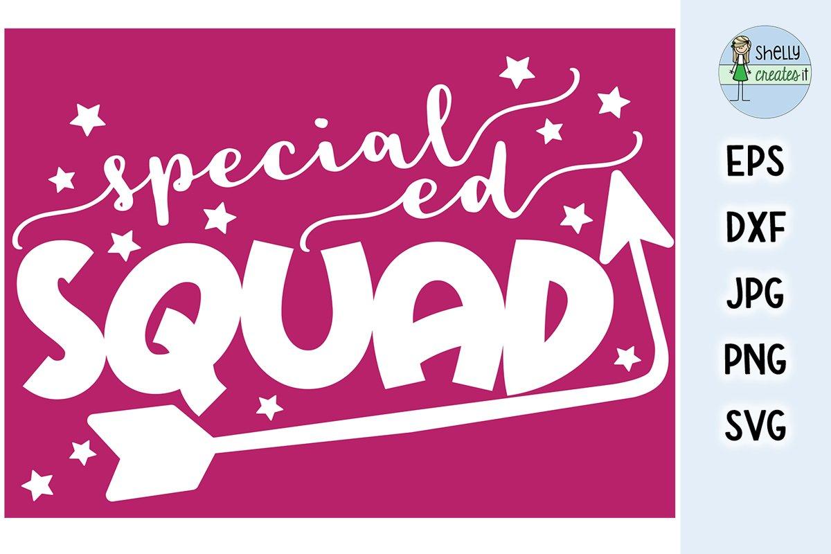Special ed SQUAD design example image 1