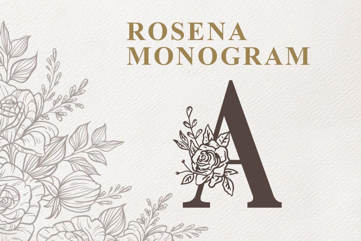 Rosena Monogram example image 1