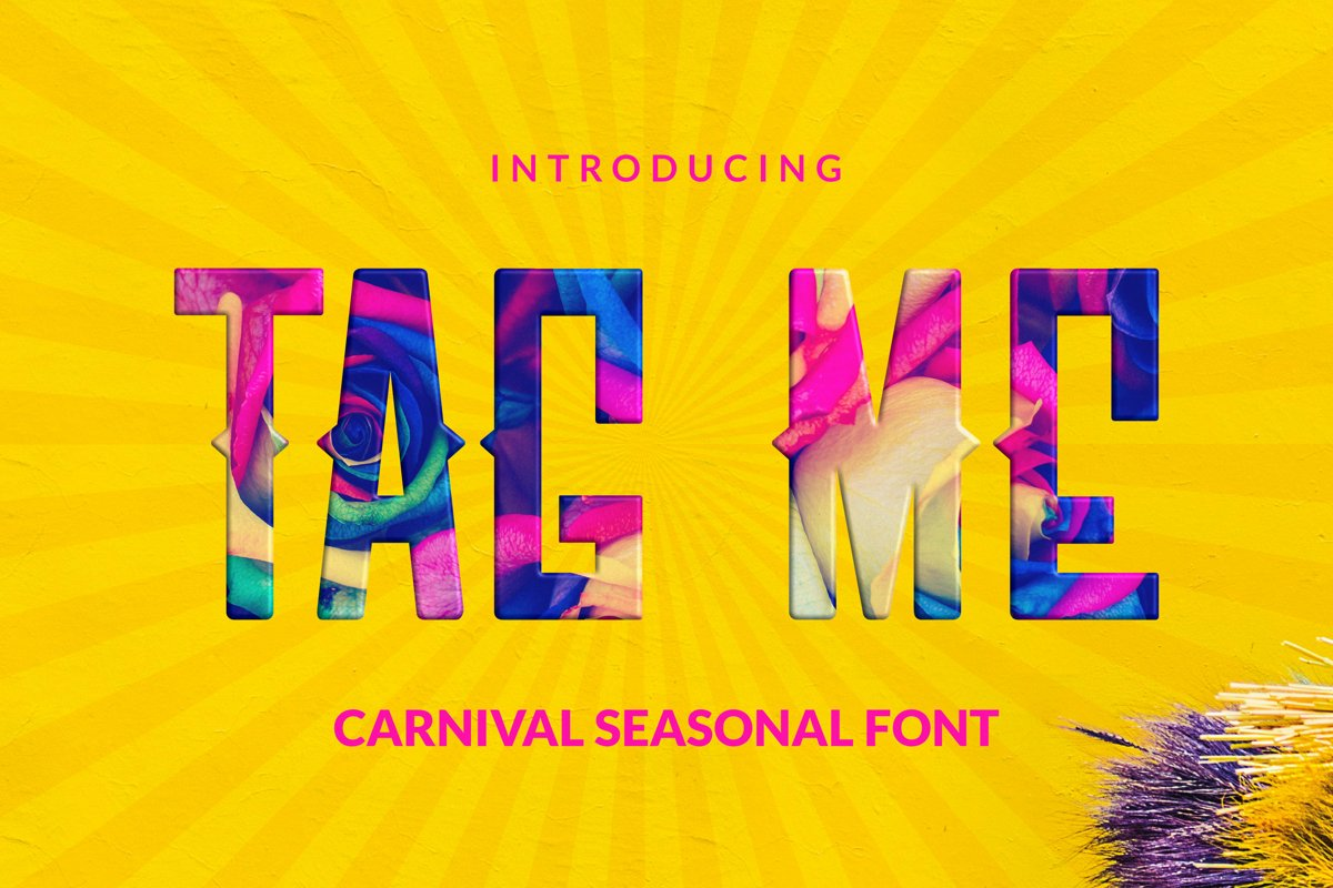 Tag Me Font example image 1