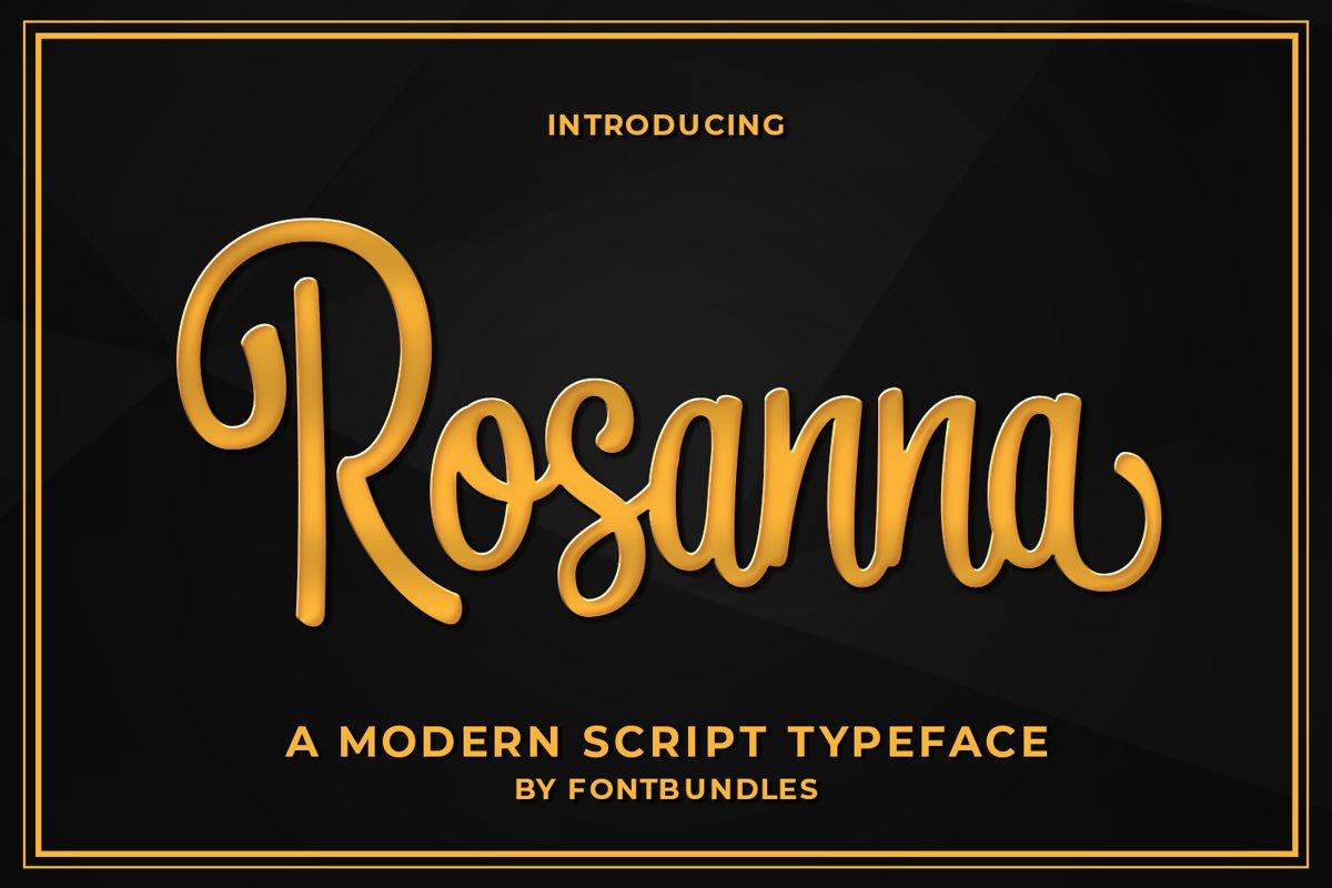 Rosanna example image 1