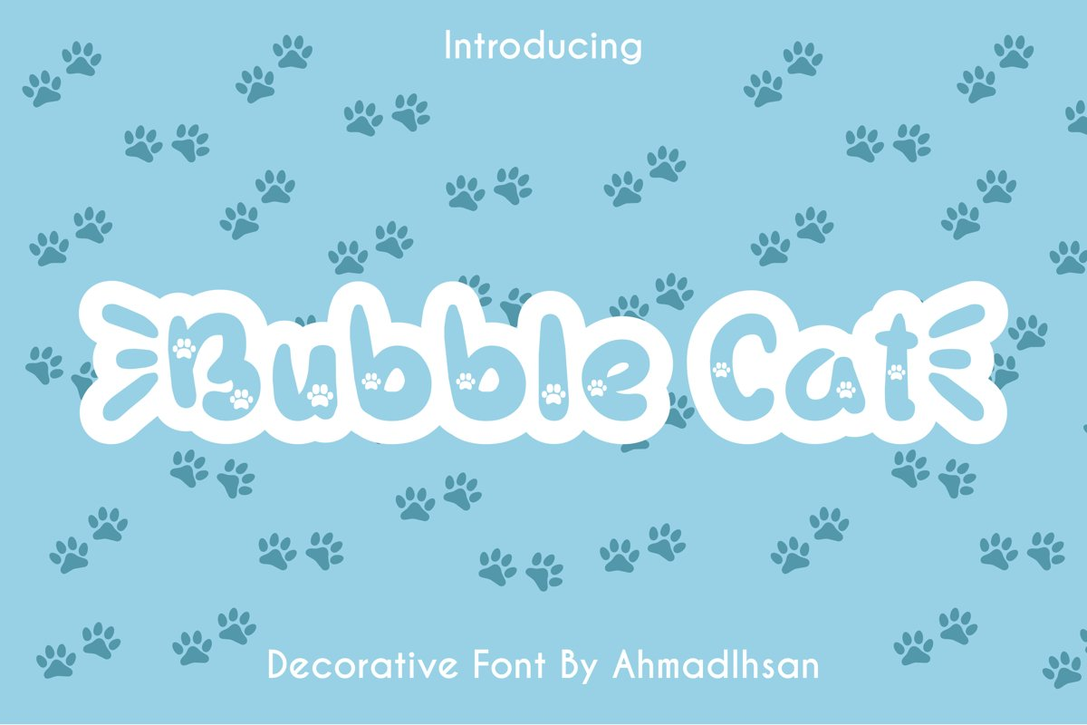Bubble Cat example image 1