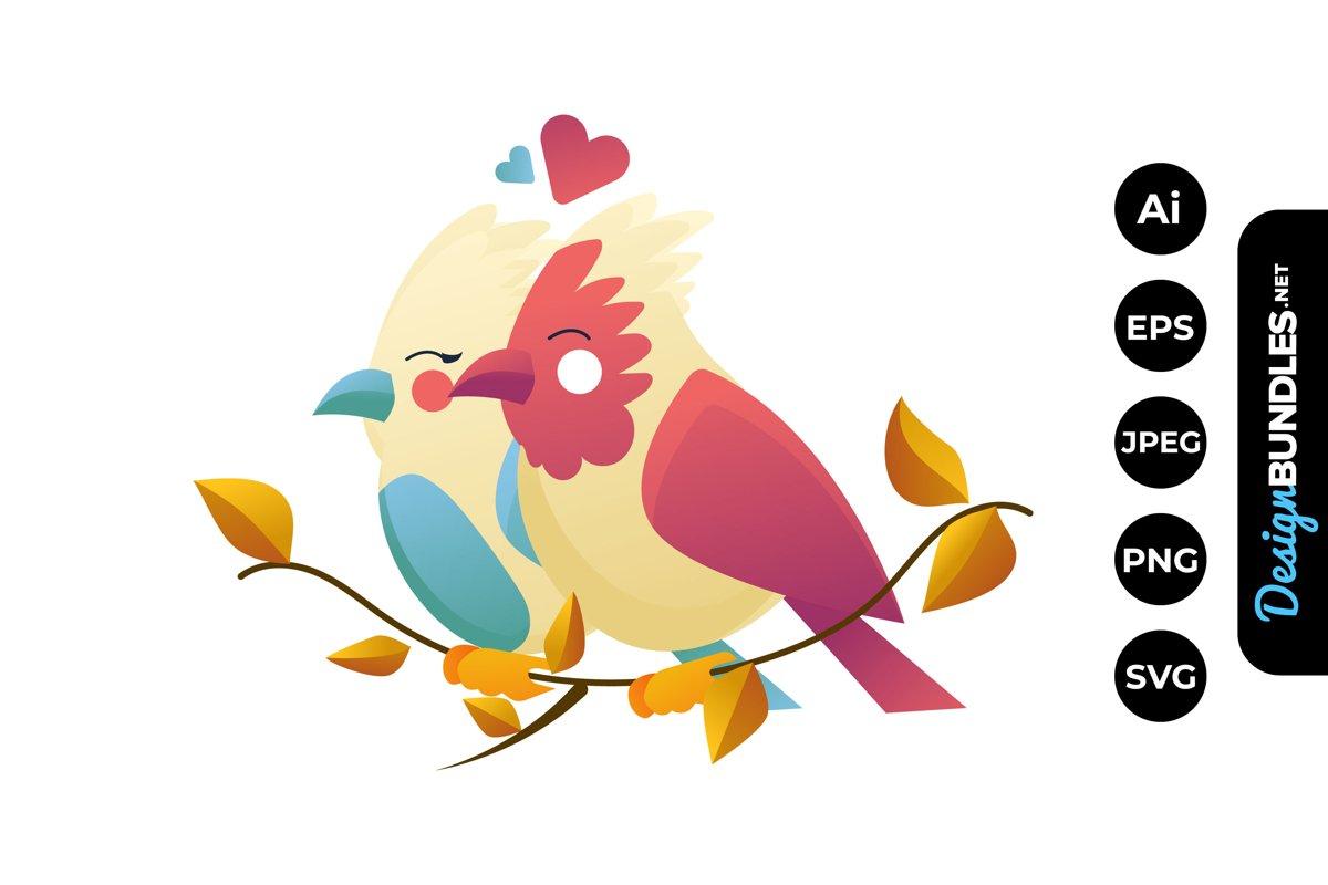 Download Love Bird Clipart