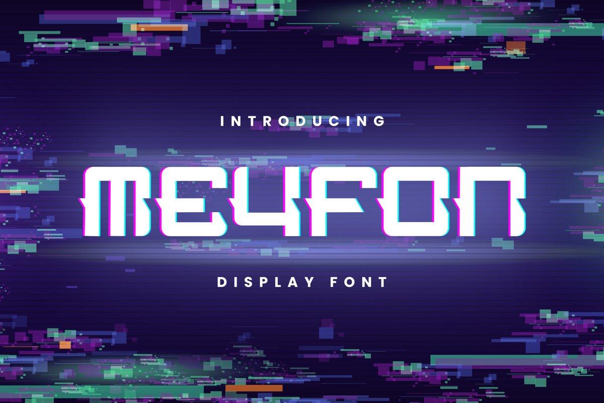 Meyfon Font example image 1