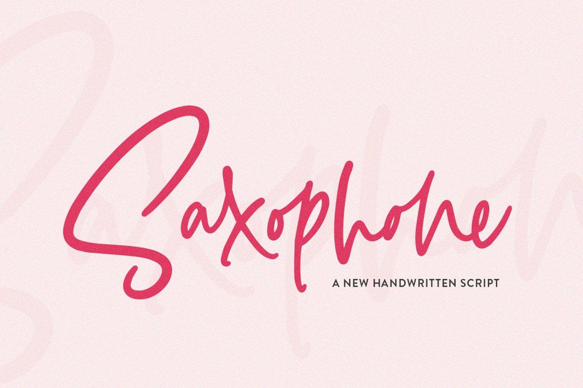 Saxophone Script example image 1