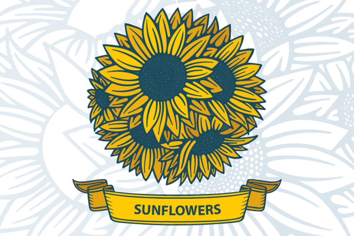 Sunflowers bouquet. example image 1
