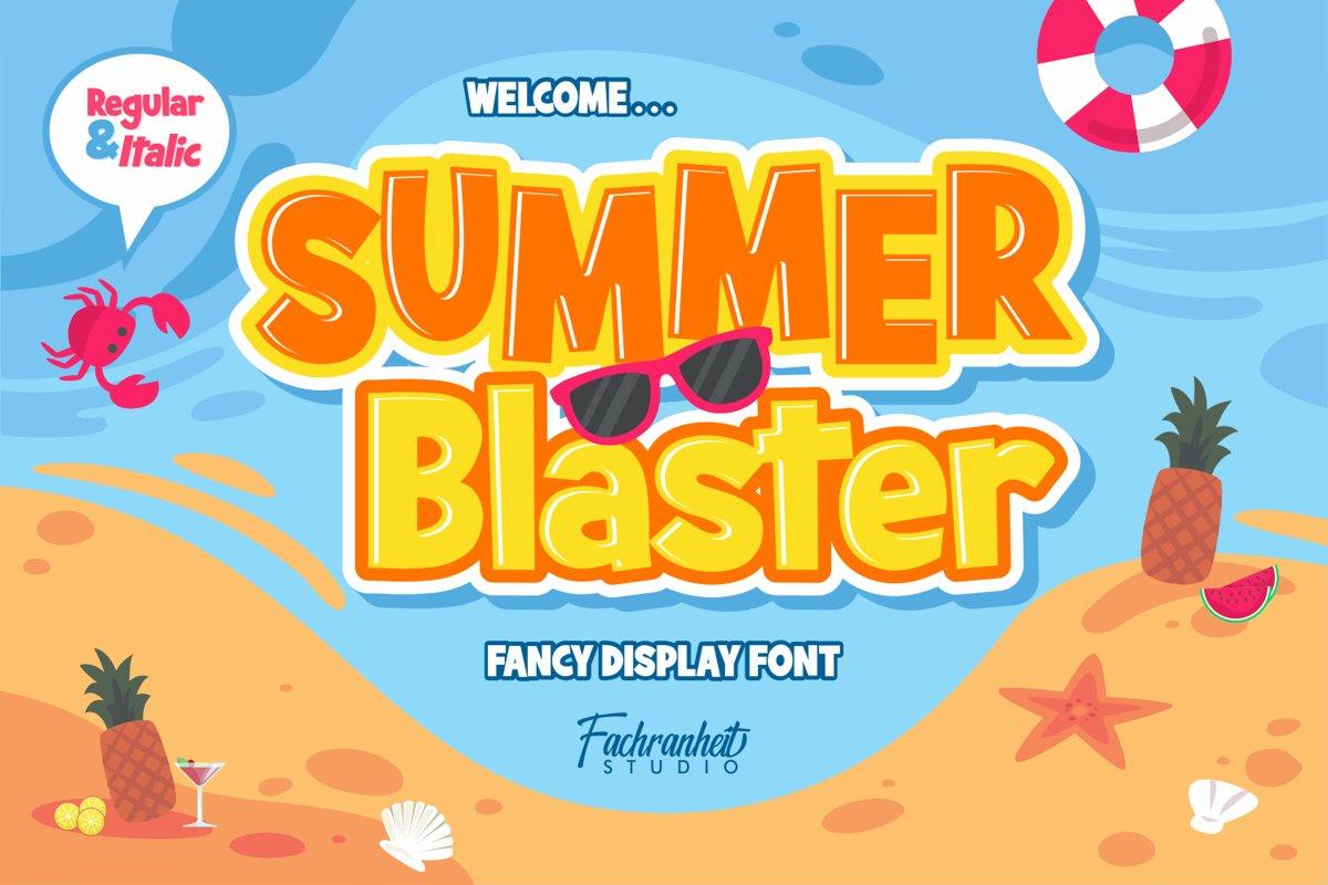 Summer Blaster example image 1