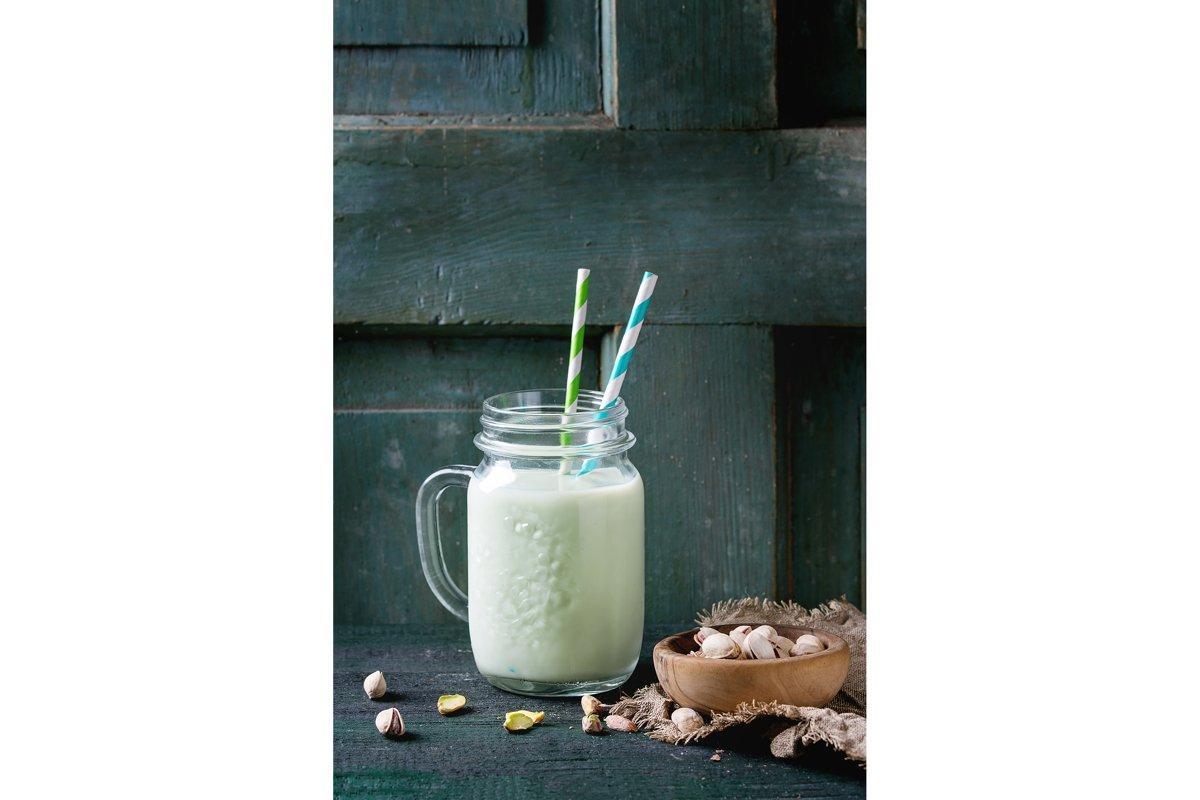 Yogurt with pistachios example image 1