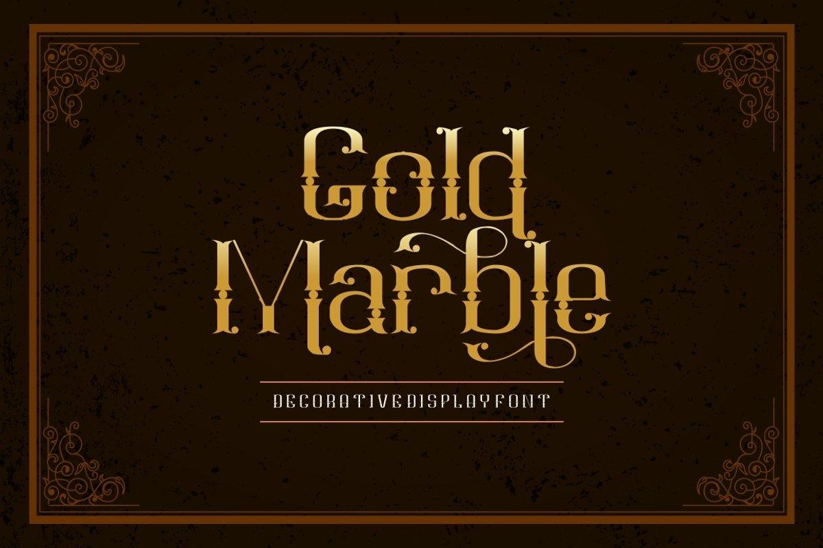Goldmarble example image 1