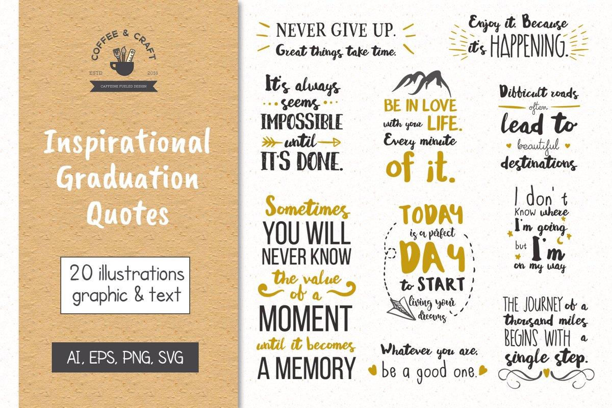 Inspirational Graduation Quotes example image 1