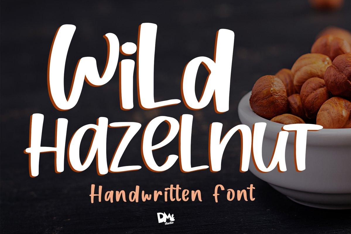 Wild Hazelnut - Handwritten Font example image 1