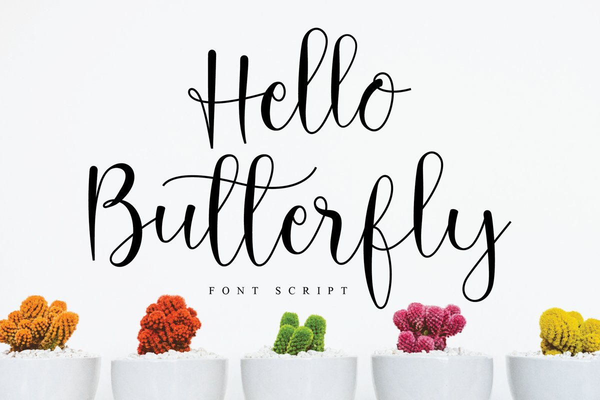 Hello Butterfly example image 1