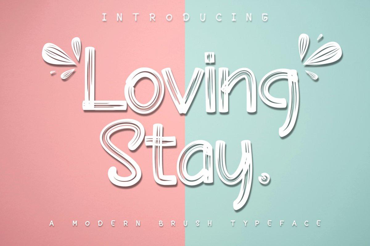Loving Stay / Brush example image 1