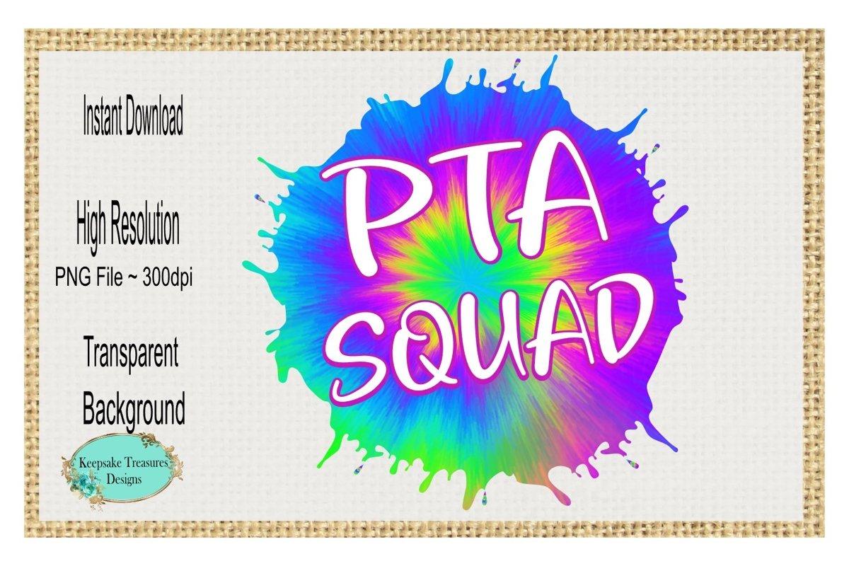PTA Squad, Sublimation Design example image 1