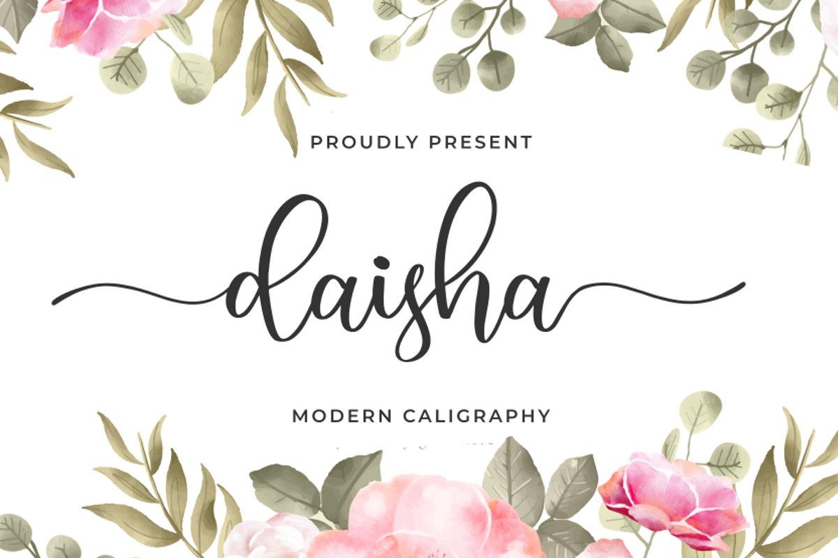Daisha example image 1