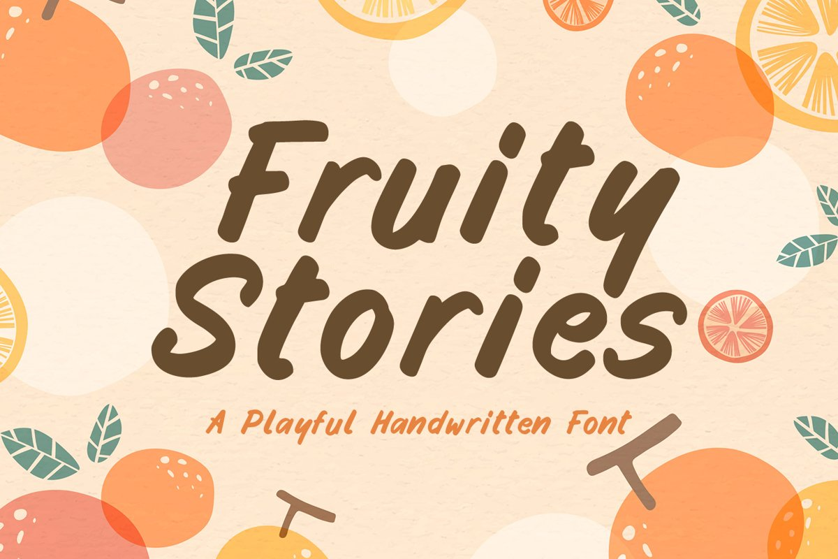 Fruity Stories example image 1