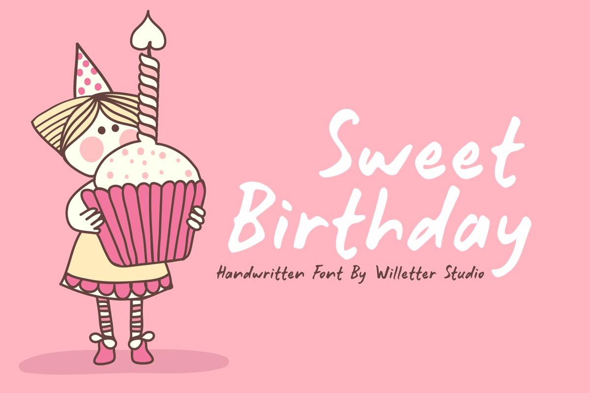 Sweet Birthday example image 1