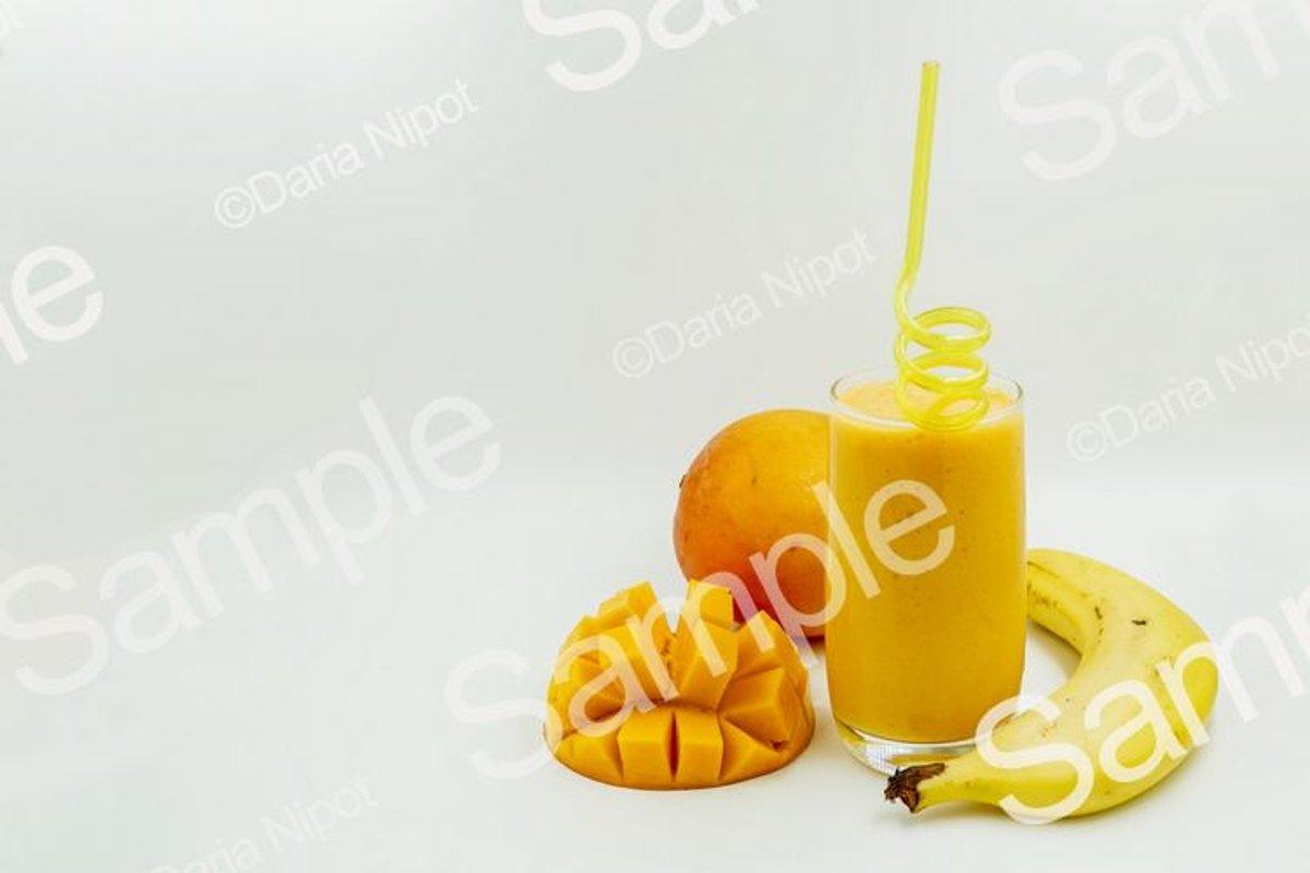 Tropical smoothie or milkshake example image 1