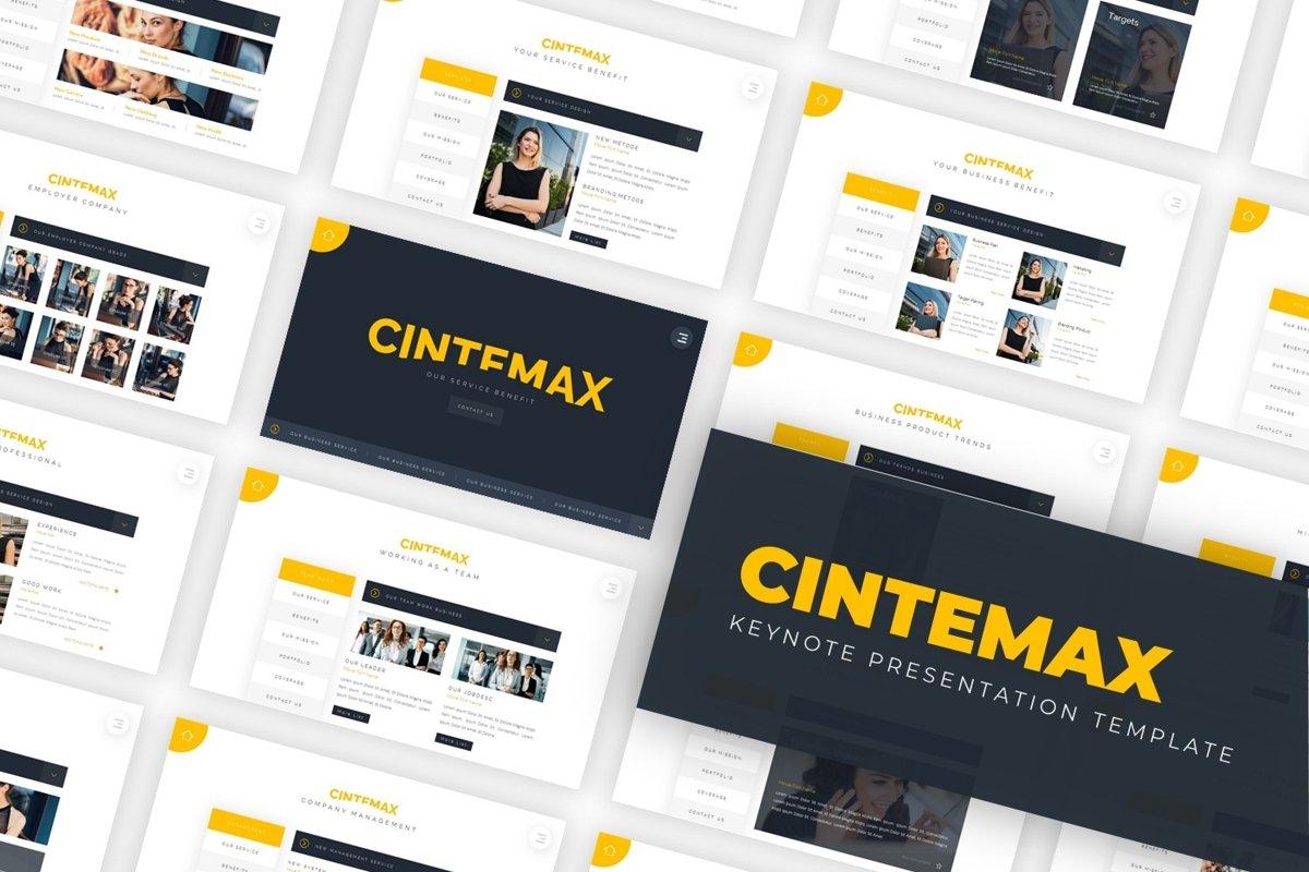 Cintemax - Keynote Template example image 1