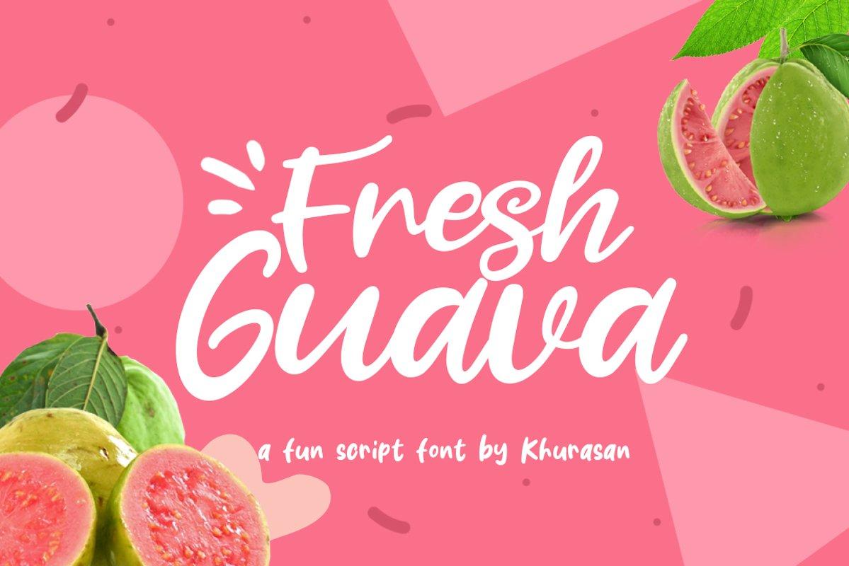 Fresh Guava example image 1