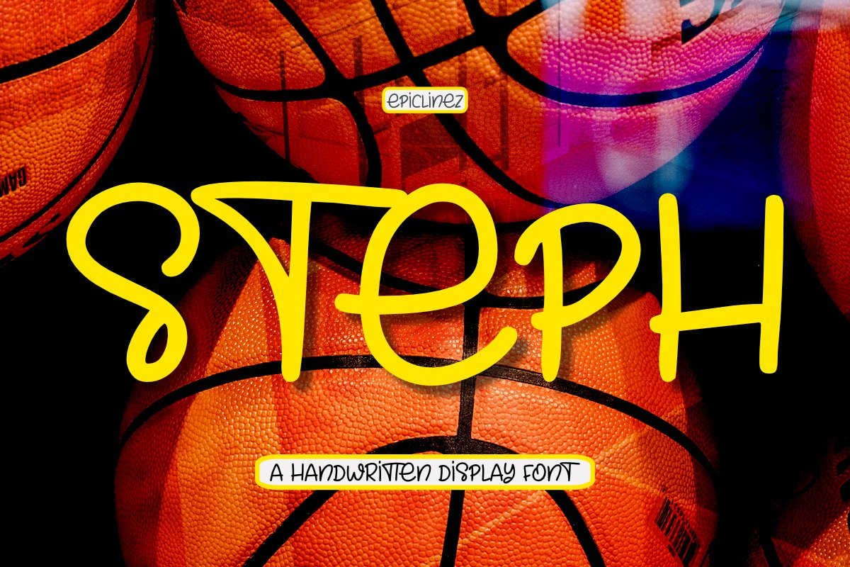Steph - A Fun Handwritten Display Font example image 1