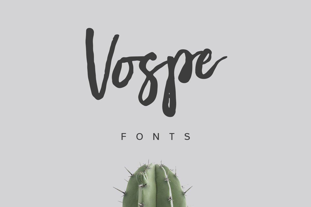 Vospe Font example image 1