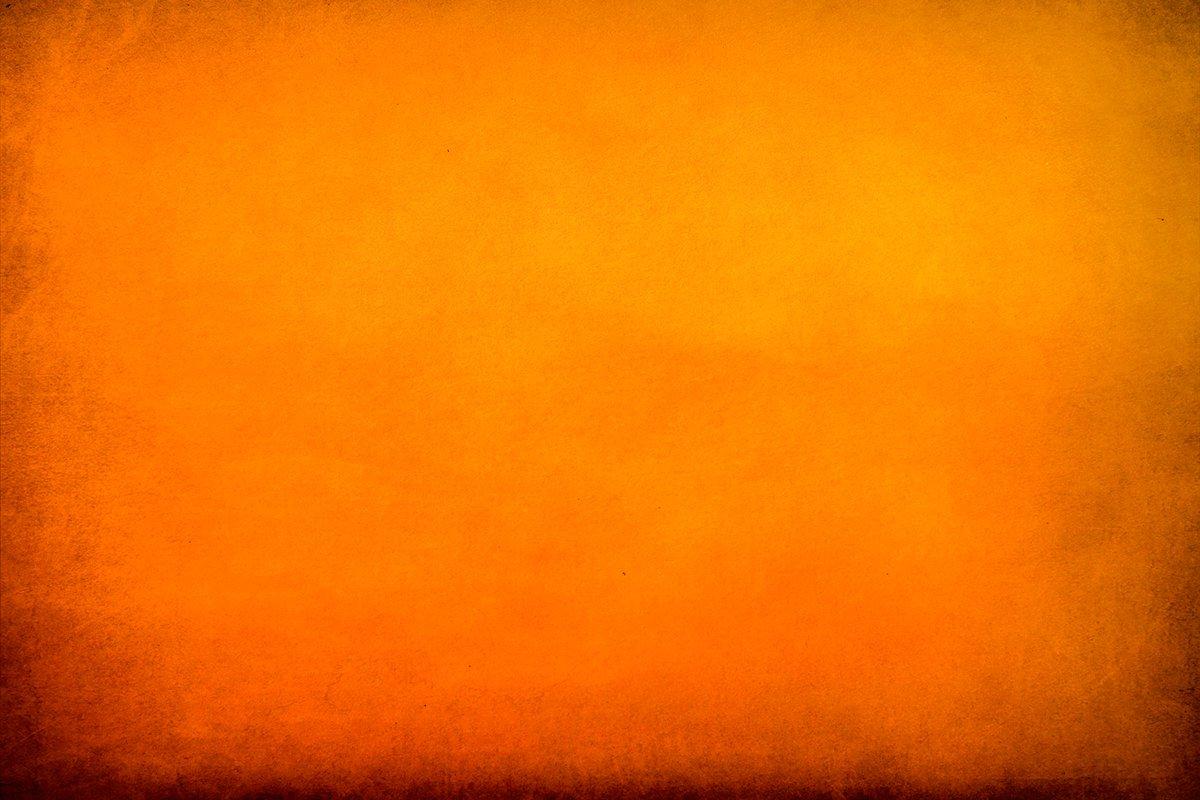 Texture of orange cardboard paper sheet. Festive background example image 1